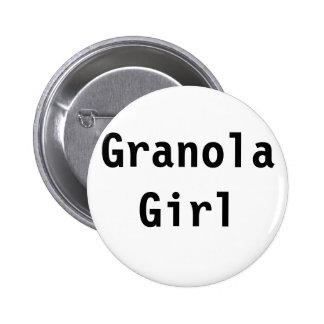 Granola Girl Pinback Buttons