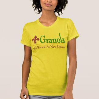 Granola: Girl Raised At New Orleans Shirts