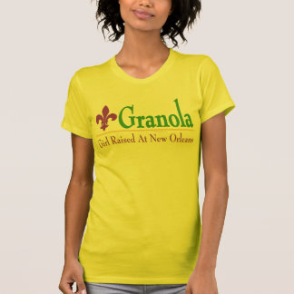 Granola: Girl Raised At New Orleans T-Shirt