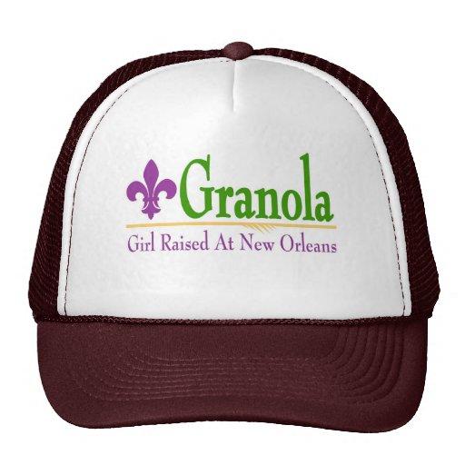 Granola, Girl Raised At NOLa Trucker Hats