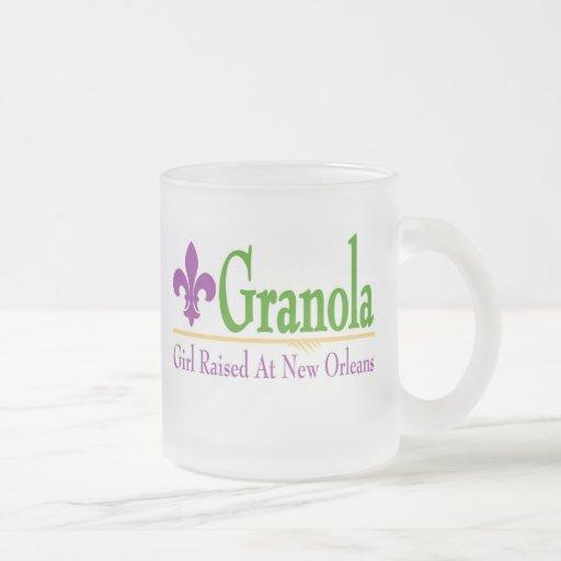 Granola, Girl Raised At NOLa Mug