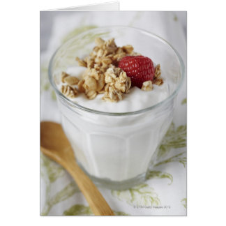 Granola, Oats, Toasted, Fruit, Berry, Raspberry, Card