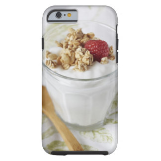 Granola, Oats, Toasted, Fruit, Berry, Raspberry, Tough iPhone 6 Case