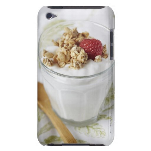 Granola, Oats, Toasted, Fruit, Berry, Raspberry, iPod Touch Cases