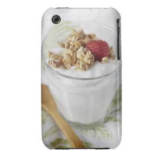 Granola, Oats, Toasted, Fruit, Berry, Raspberry, iPhone 3 Case-Mate Case