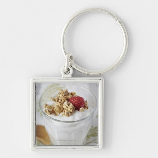 Granola, Oats, Toasted, Fruit, Berry, Raspberry, Keychains
