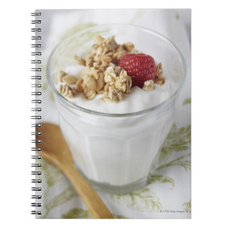 Granola, Oats, Toasted, Fruit, Berry, Raspberry, Notebook