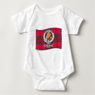 Grant Clan Baby Bodysuit