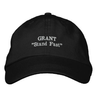 Grant Clan Motto Embroidered Hat