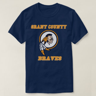 Grant County Braves   High School  kentucky T-Shirt