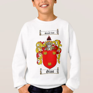 GRANT FAMILY CREST -  GRANT COAT OF ARMS SWEATSHIRT