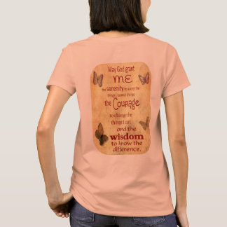 Grant Me Serenity - Serenity Prayer - Women's T T-Shirt