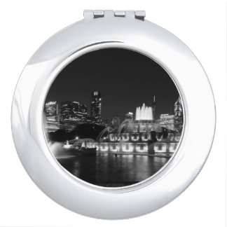 Grant Park Chicago Grayscale Makeup Mirrors