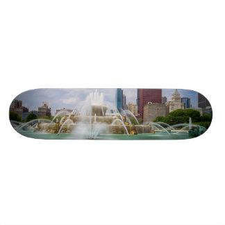 Grant Park City View Skate Deck