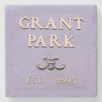 Grant Park, Sign, Atlanta, Georgia, Coasters Stone Coaster