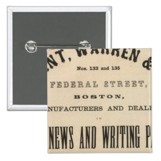 Grant, Warren and Company Button
