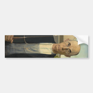 Grant Wood - American Gothic Bumper Stickers