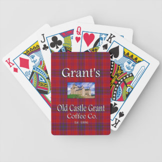 Grant's Old Castle Grant Coffee Co. Bicycle Playing Cards