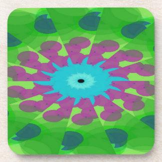 Granular Minuscule Pattern Coaster