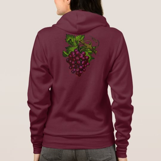 Grape Bunch Dripping Blood Hoodie