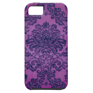 Grape Damask Case For The iPhone 5