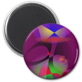 Grape Hero 2 Inch Round Magnet