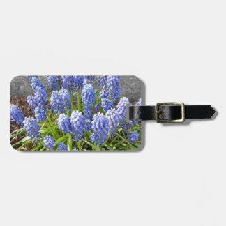 Grape Hyacinth Bag Tag