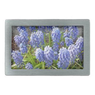 Grape Hyacinth Belt Buckles