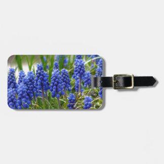 Grape Hyacinth Luggage Tag