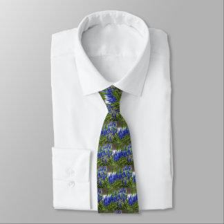 Grape Hyacinth Tie