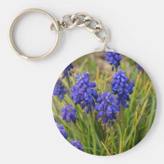 Grape Hyacinths Family Keychain