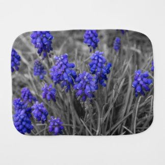 Grape Hyacinths Family Select Burp Cloth