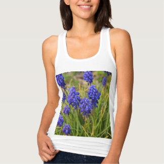 Grape Hyacinths Family Tank Top