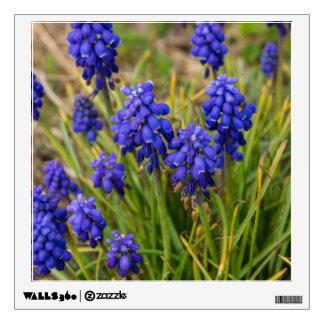 Grape Hyacinths Family Wall Sticker