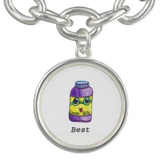 Grape Jelly BFF Bracelet