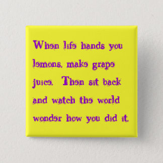 grape juice 2 inch square button