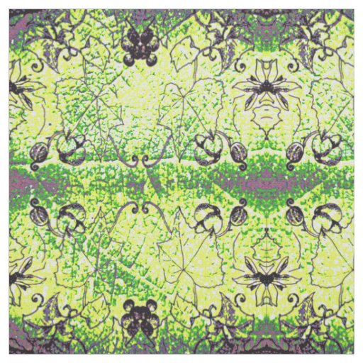 Grape Leaf Pattern Fabric