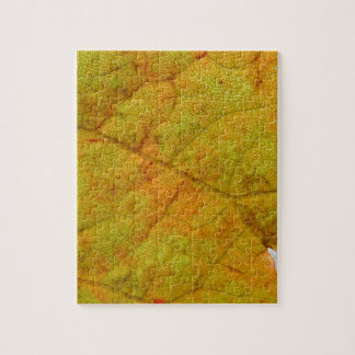 Grape Leaf Underside Jigsaw Puzzle