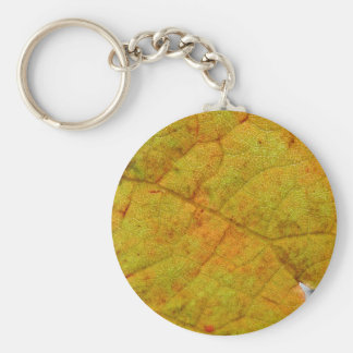 Grape Leaf Underside Keychain