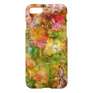 Grape Leaves with Vintage Film Style iPhone 8/7 Case