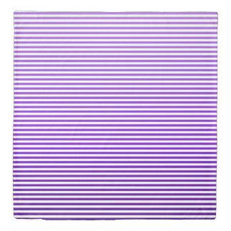 Grape Ombre Stripe Duvet Cover