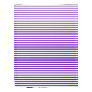 Grape Ombre Stripe Duvet Cover