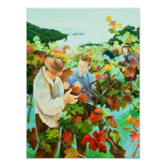 Grape Pickers 1996 Poster