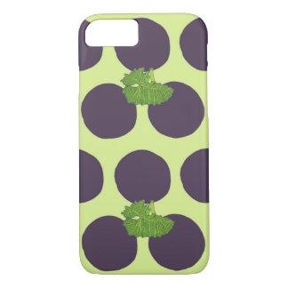 Grape Polka Dots iPhone 8/7 Case