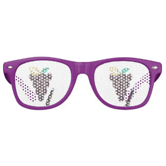 Grape Pool Party Sunglasses