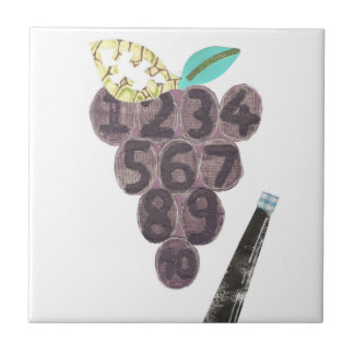 Grape Pool Tile
