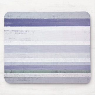 'Grape' Purple and Grey Abstract Art Mouse Pad