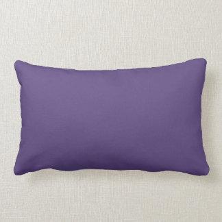 Grape Solid Colour Lumbar Pillow
