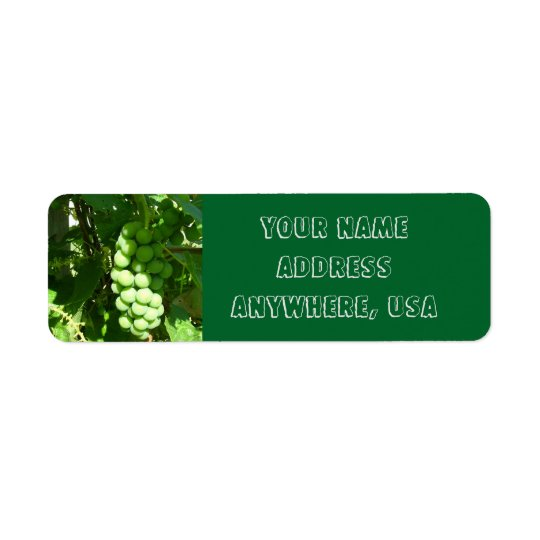 Grape Vine Address Labels