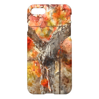 Grape Vines in the Fal iPhone 8/7 Case